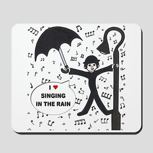 'Singing in the Rain' Mousepad