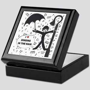 'Singing in the Rain' Keepsake Box