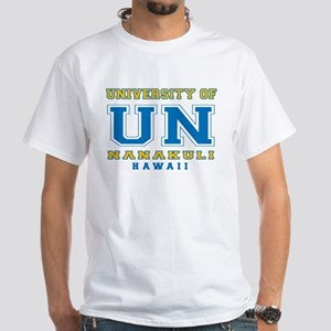 University of Nanakuli - White T-Shirt