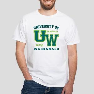University of Waimanalo - White T-Shirt