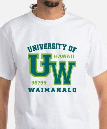 University of Waimanalo - White T-Shirt