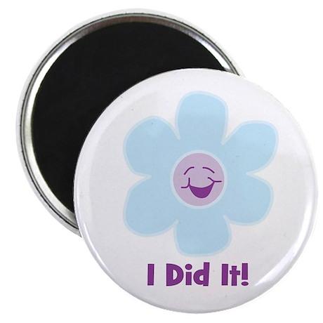 "I Did It! 2.25"" Magnet (10 pack)"