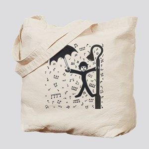 'Singing in the Rain' Tote Bag