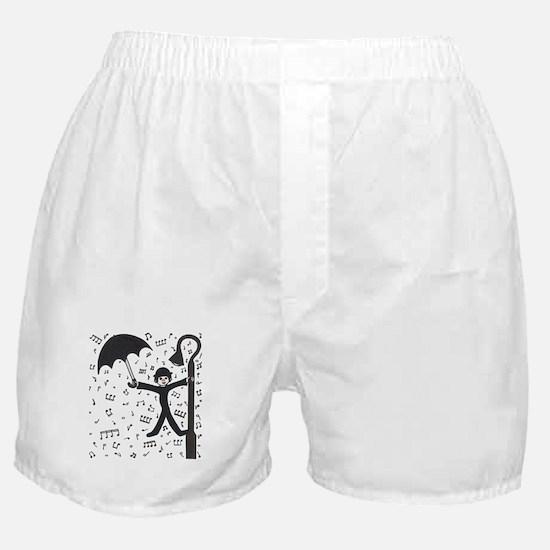 'Singing in the Rain' Boxer Shorts
