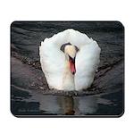 Swan #2 Mousepad
