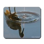 Reflected Blue Heron Mousepad