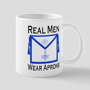 Real Men Wear Aprons Mug