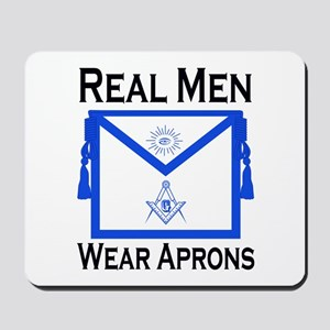 Real Men Wear Aprons Mousepad