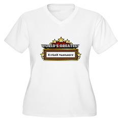 World's Greatest Retail Manag T-Shirt