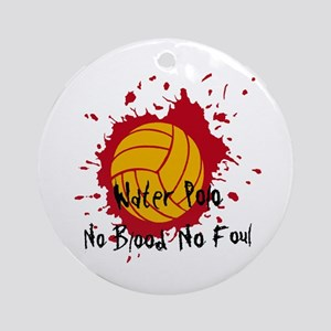 No Blood No Foul Ornament (Round)