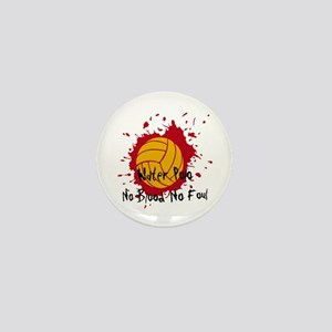 No Blood No Foul Mini Button