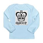 Queen Long Sleeve Infant T-Shirt