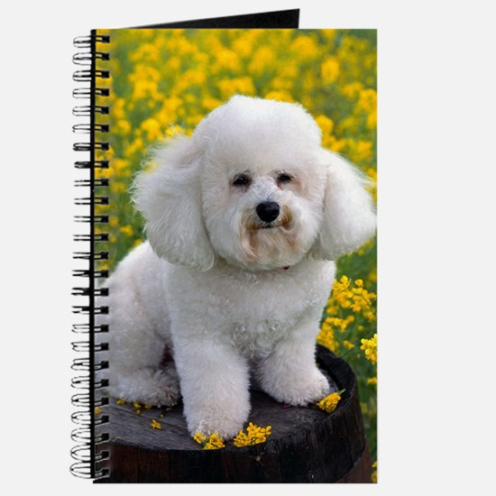 BICHON YELLOW FLOWER FIELD Journal