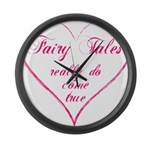 Fairy Tales Large Wall Clock