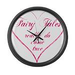 Fairy Tales Large Wall Clock