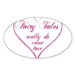 Fairy Tales Sticker (Oval)