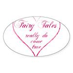 Fairy Tales Sticker (Oval)