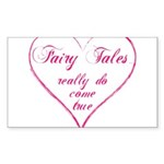 Fairy Tales Sticker (Rectangle)