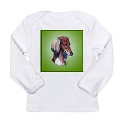 Saluki Long Sleeve Infant T-Shirt