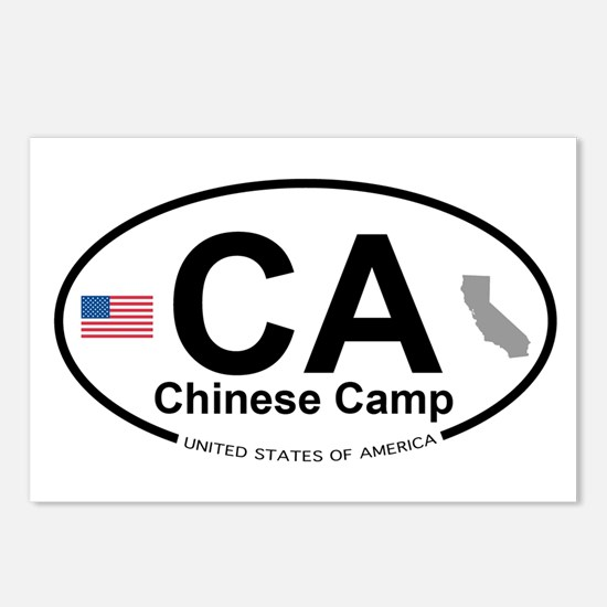Chinese Camp Postcards (Package of 8)