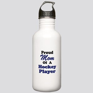 Proud Mom of a Hockey Player Stainless Water Bottl