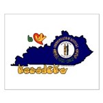 ILY Kentucky Small Poster