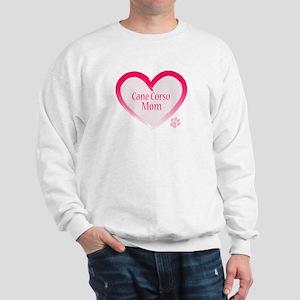 Cane Corso Pink Heart Sweatshirt