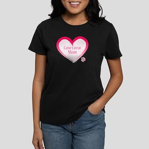 Cane Corso Pink Heart Women's Dark T-Shirt