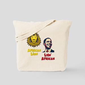 Obama Lyin' African Tote Bag