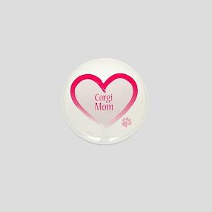Pug Mom Mini Button