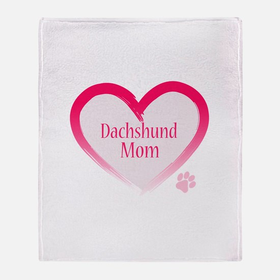 Cute Doxie Throw Blanket