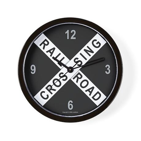 Railroad Crossing Clock
