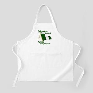 Nigerian by birth Apron
