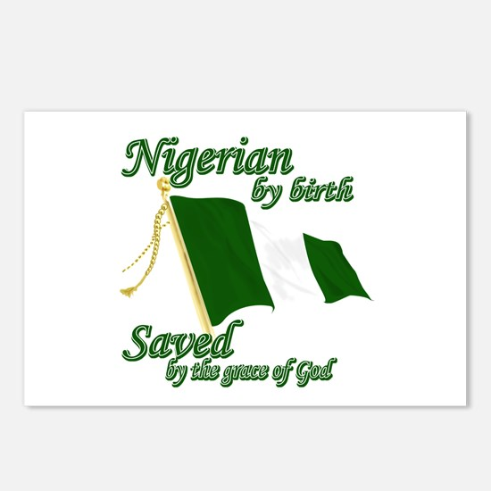 Nigerian by birth Postcards (Package of 8)