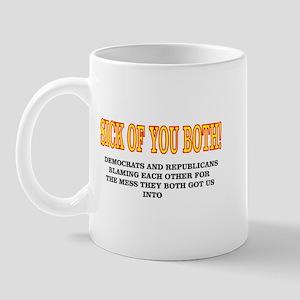 Sick Of You Both! Mug