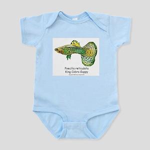 King Cobra Fancy Guppy Infant Creeper