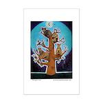 Quiche Lorraine's Bengal Tree Mini Poster Print