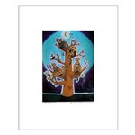 Quiche Lorraine's Bengal Tree Small Poster
