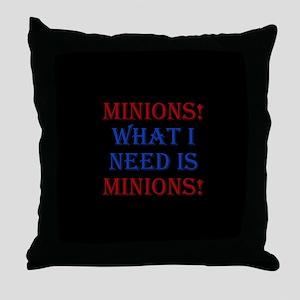 Minions Throw Pillow