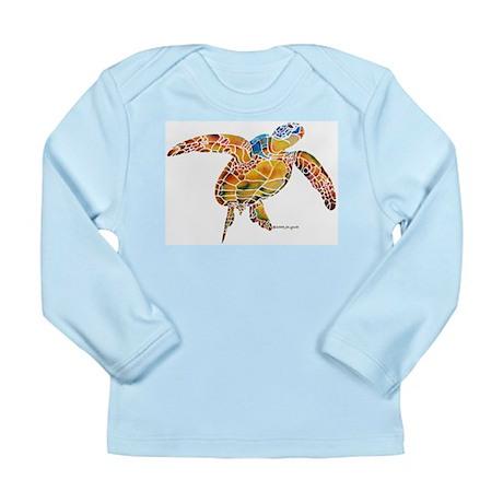 Sea Turtles Long Sleeve Infant T-Shirt