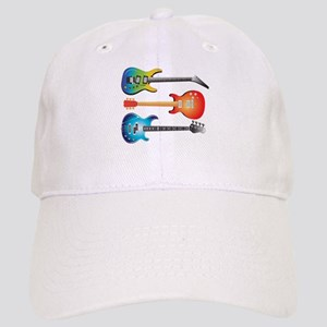 3 Electric Guitars Cap