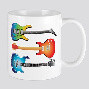 3 Electric Guitars Mug