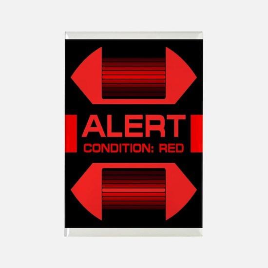 Red Alert! Rectangle Magnet