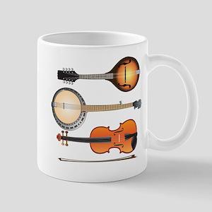 Mandolin Banjo and Fiddle Mug