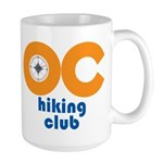 OC Hiking Club Large Mug