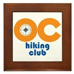 OC Hiking Club Framed Tile