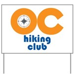 OC Hiking Club Yard Sign