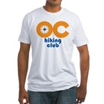OC Hiking Club Fitted T-Shirt