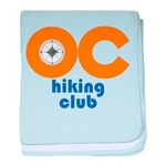 OC Hiking Club baby blanket