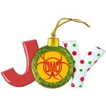 No GMO Biohazard Joy Ornament